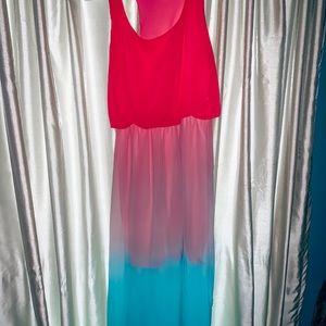Dresses & Skirts - Ombre maxi dress💕
